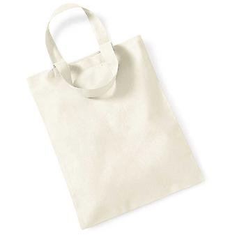 Westford Mill Unisex Adults Mini Promo Tote Bag One Size