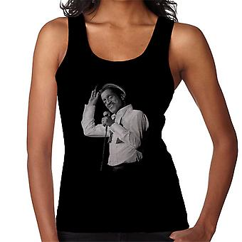 Sammy Davis Jr Singing In Concert 1982 Women's Vest