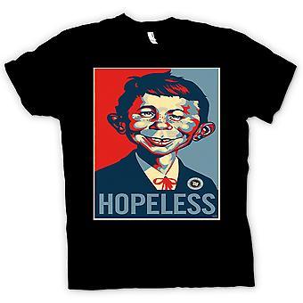 Womens T-shirt - Mad Hopeless Obama - Pop Art - Style