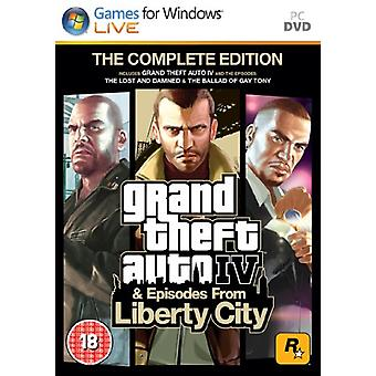 Grand Theft Auto IV Complete Edition (PC-DVD)