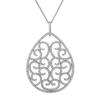 Orphelia Silver 925 Pendant Drop With Zirconium  ZH-7295