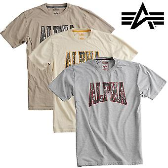 Alpha industries shirt photo print T