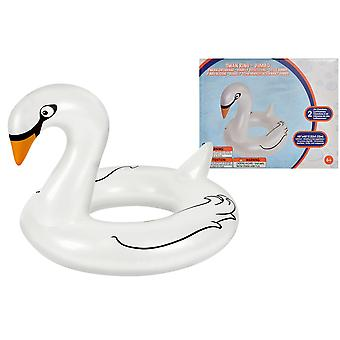 Inflatable Jumbo Swan Ring Pool Float Beach Holiday Swimming Water Beach
