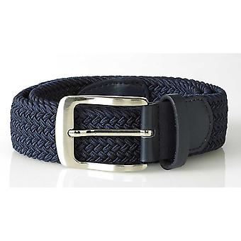 Duke Mens Dani King Size Stretch Braided Belt