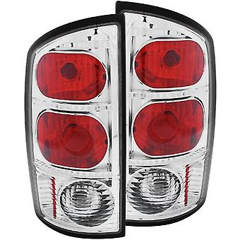 Anzo USA 211043 Dodge Ram Chrome Tail Light Assembly - (Sold in Pairs)