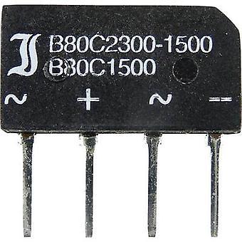 Diode B250C1500B Diotec pont SIL 4 600 V 2.3 A 1 phase