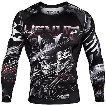 Venum Samurai Skull Long Sleeve Rash Guard