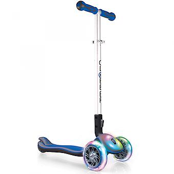 My Free Fold Up Elite Micro Mini Scooter - 3 Wheel Scooter - Blue - Globber