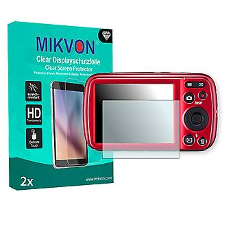 Casio Exilim EX-N50 Screen Protector - Mikvon Clear (Retail Package with accessories)