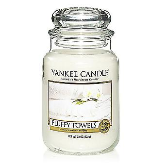 Yankee Candle Large Jar Candle Classic 623g Fluffy Towels