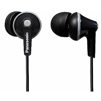Panasonic RPHJE125/BLACK Ergofit In-Ear Headphone Earphone RP-HJE125E-K