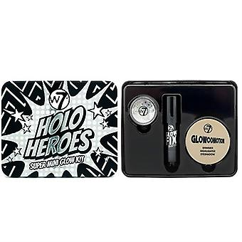 W7 Holo Heroes Super Mini Glow 3 Piece Kit