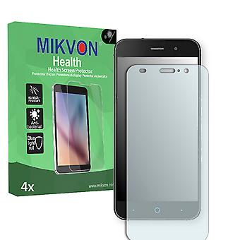ZTE Blade V6 Screen Protector - Mikvon Health (Retail Package with accessories) (intentionally smaller than the display due to its curved surface)