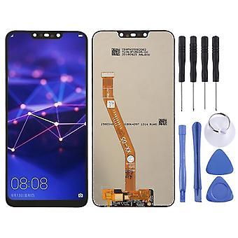 För Huawei mate reparera 20 Lite uppvisning full LCD enhet touch reservdelar svart ny