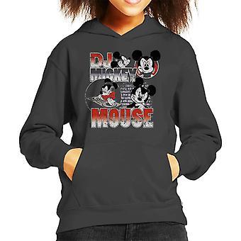 Disney DJ Mickey Mouse Kid's Hooded Sweatshirt