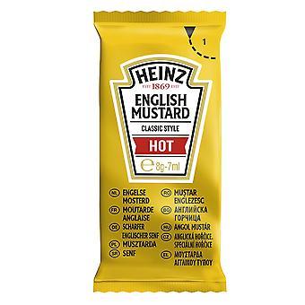 Heinz heiße englische Senf Portionsbeutel