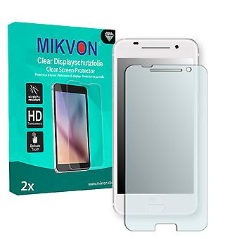 HTC One A9 Screen Protector - Mikvon Clear (Retail Package with accessories) (reduced foil)