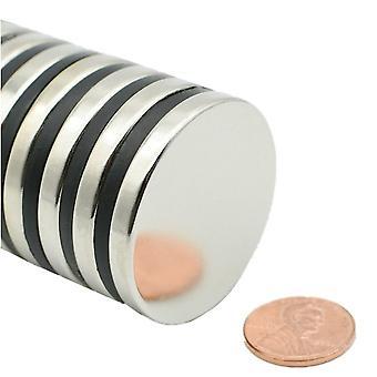 Neodymowy magnes 40 x 5 mm podkładka N35 - 25 sztuk