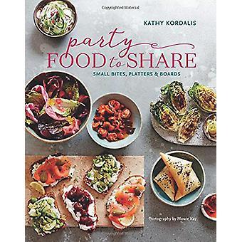 Party mat till aktie - smårätter - Platters & styrelser av Kathy Kordali