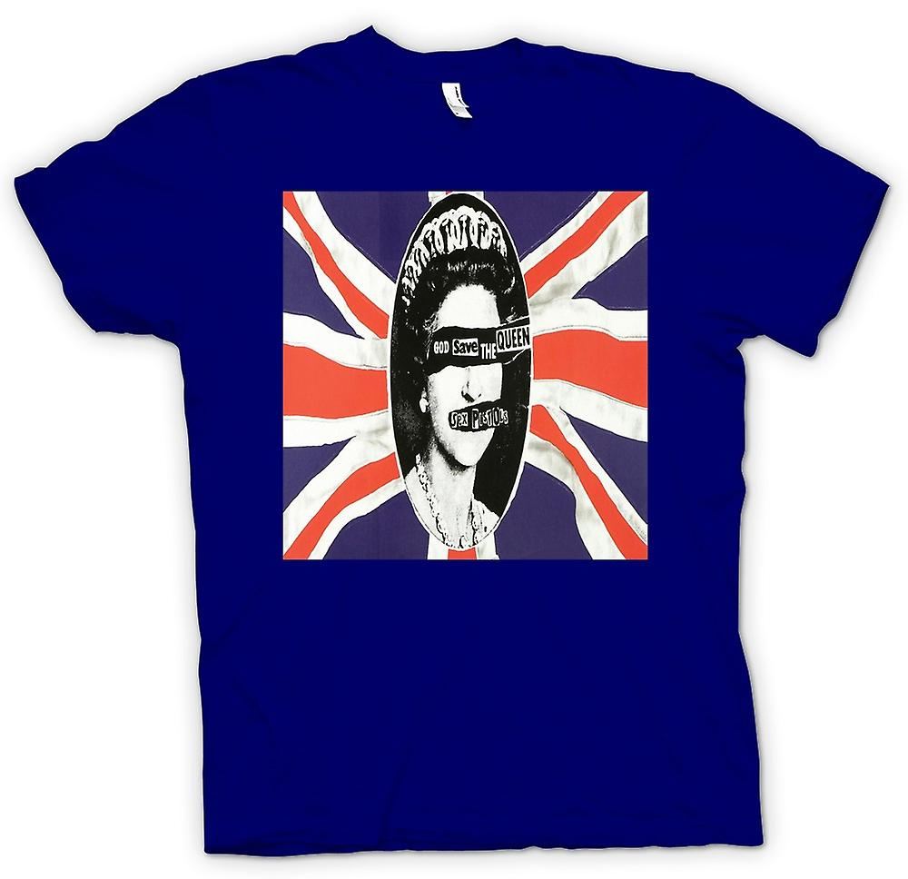 Mens T-shirt - Save the Queen - Punk