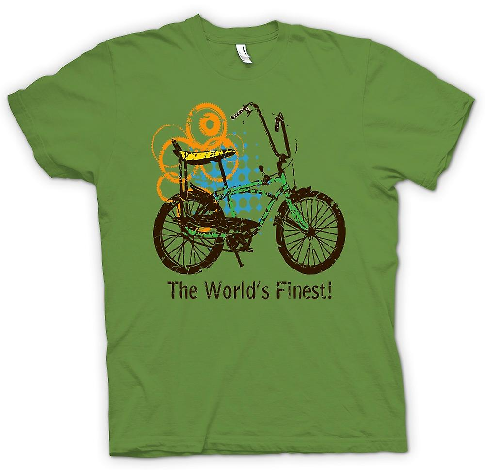 Mens t-shirt-Chopper Bike - il più belle del mondo - Funny Graphic Design