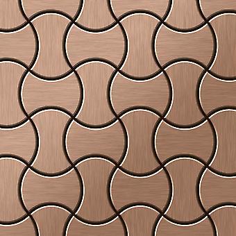 Metal mosaic Titanium ALLOY Infinit-Ti-AB