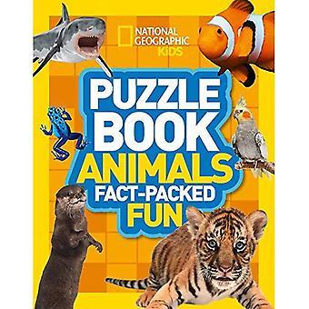Tier Puzzle Buch