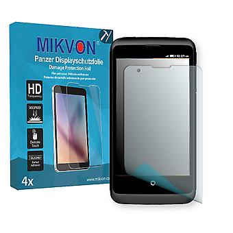 ZTE Open C Screen Protector - Mikvon Armor Screen Protector (Retail Package with accessories)