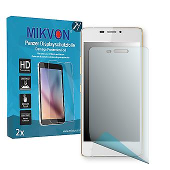 Gionee Elife S5.1 Screen Protector - Mikvon Armor Screen Protector (Retail Package with accessories)