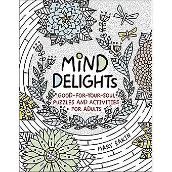 Mind Delights: Good-for-Your-Soul Puzzles and Activities for Adults (Brain Activities and Adult� Coloring)