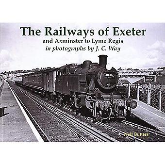 Järnvägarna av Exeter och Axminster till Lyme Regis