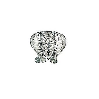Ideal Lux - Mozart Chrom und Kristallwand Licht IDL015767