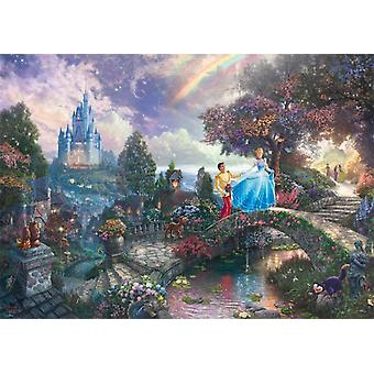 Schmidt Kinkade: Disney Cinderella Jigsaw Puzzle (1000 Teile)