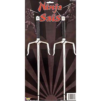 Ninja metallischen Sais 14 Zoll