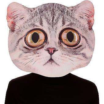Big Eyed Cat Mask