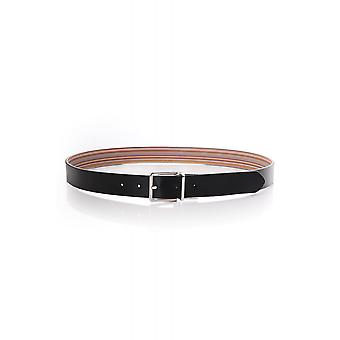 Paul Smith Accessories Mens Stripe Cut To Size Belt