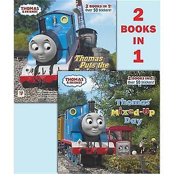 Thomas' Mixed-Up Day/Thomas Puts the Brakes on by Random House - 9780