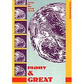 Many and Great - Audio CD by Wild Goose Worship Group - 9781901557428