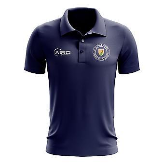 Camiseta polo de fútbol de las Islas Turcas y Caicos (Navy)