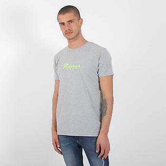 Nuevo Club Core Signature T-shirt - Grey / Fluorescent