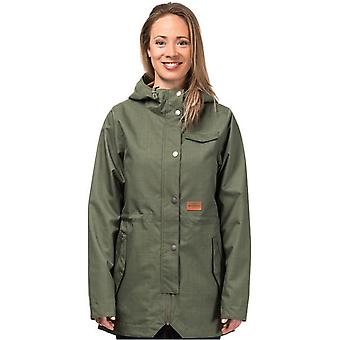 Horsefeathers Olive Lexi chaqueta impermeable para mujer