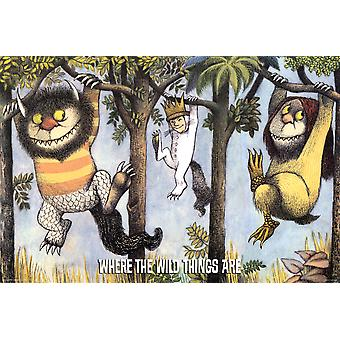 Poster - Studio B - Where the Wild Things Are 36x24