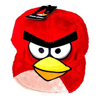 Baseball Cap - Angry Birds - Red Face Soft Cotton Slouchy New 044033