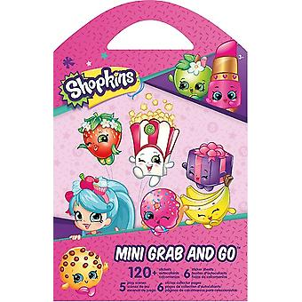 Grab and Go Stickers - Shopkins Stationery - New st6023