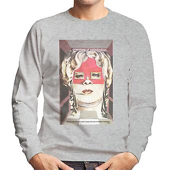 A.P.O.H Salvador Dali Overdose Of Satisfaction Men's Sweatshirt