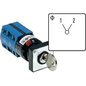 Changeover switch 10 A 1 x 60 ° Grey, Black Kraus & Naimer CG4 A220-600 *FS2 V750D/2J 1 pc(s)