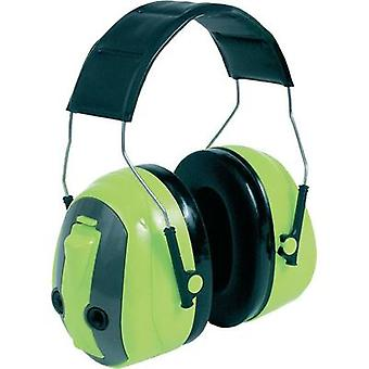 Peltor MT155H530A 489-GB Green Push-to-Listen Tactical Electronic Ear Defenders
