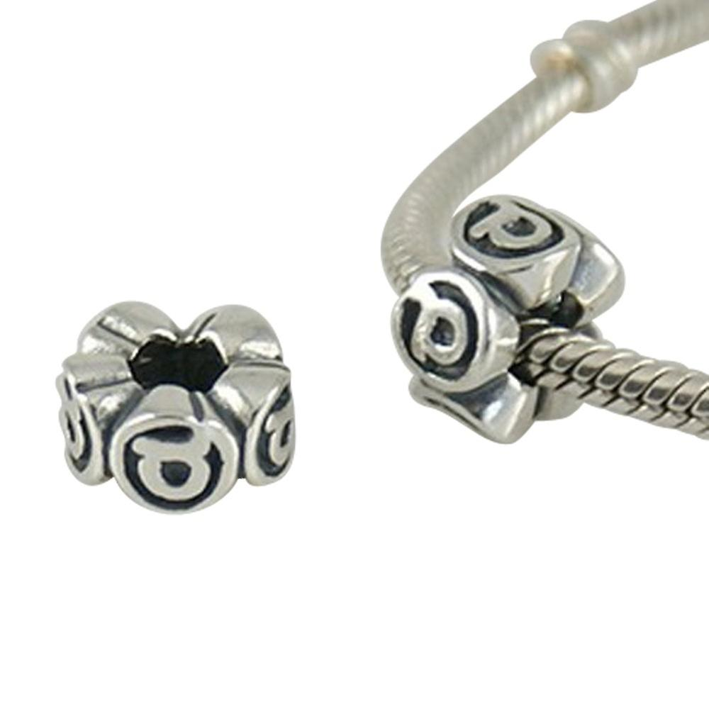 Sterling silver charm, SH3096