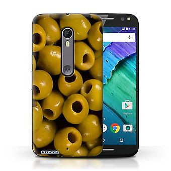 STUFF4 Case/Cover for Motorola Moto X Style/Olives/Food