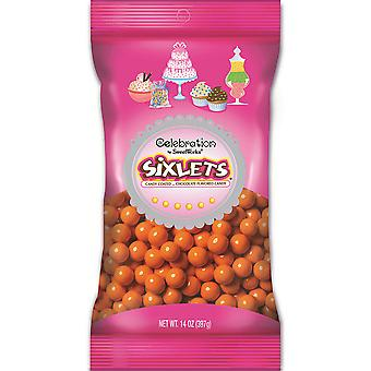 Celebrations By Sweetworks Sixlets(R) 14oz-Orange CSX95057